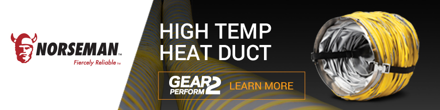 Norseman High Temp Heat Duct leaderboard ad