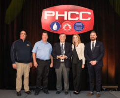 CroppMetcalfe Services named PHCC/Rheem HVAC Contractor of the Year.