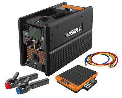 NAVAC products on display at AHR expo