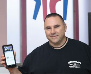 David Queirolo, owner of Queirolo's Heating & Air Conditioning Inc.