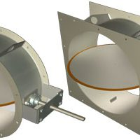 Ruskin Introduces BTR-250 Bubble-Tight Isolation Damper