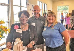 Florida State Representative (44th District) Geraldine Thompson with Brian Hastings of ACCA-CF and Paula Huband of FRACCA.