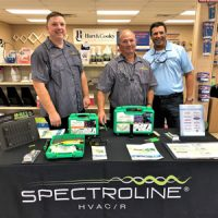Flick Hosts Spectroline Counter Days