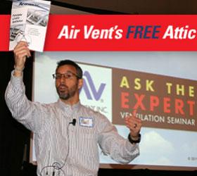 Air Vent Paul Scelsi, attic vent expert