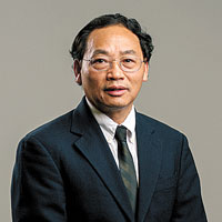 Zhifeng Ren, director of the Texas Center for Superconductivity at UH. Photo by University of Houston.