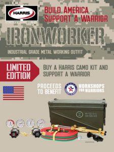 Harris Ironworker camo kit poster